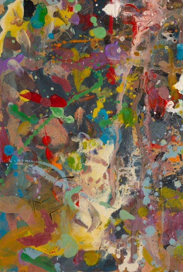 Abstract painting - Alien jungle 1 - Detail 3