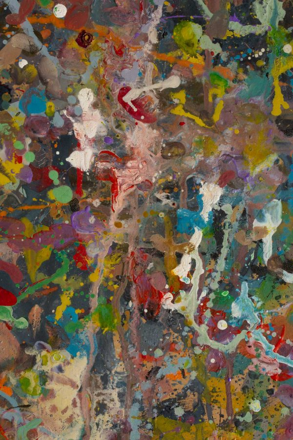 Abstract painting - Alien jungle 1 - Detail 1