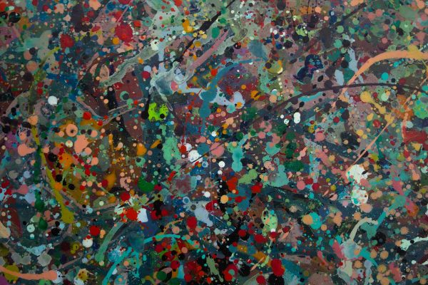 Abstract painting - Alien jungle 2 - Detail 4