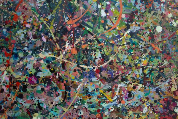 Abstract painting - Alien jungle 2 - Detail 2