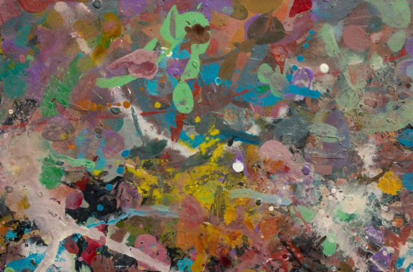 Abstract painting - Beautiful Woman - Detail 3