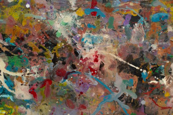 Abstract painting - Beautiful Woman - Detail 4