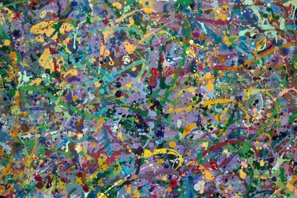 Abstract painting - Butterfly orgy - Detail 5