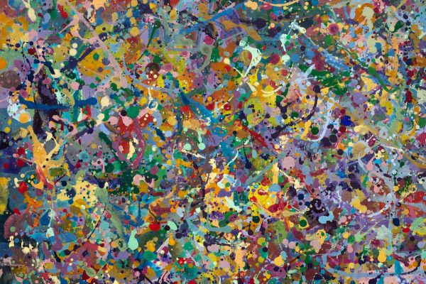 Abstract painting - Butterfly orgy - Detail 6