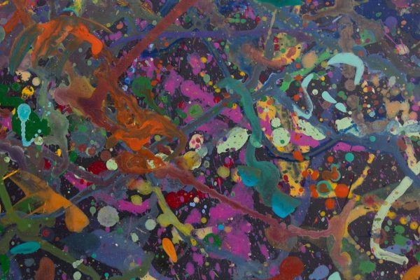 Abstract painting - Celebrities at a party in Yarra Glen - Detail 4