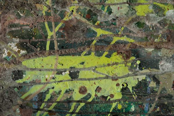 Abstract painting - Despair - Detail 1