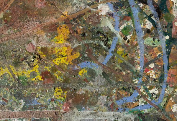 Abstract painting - Despair - Detail 2