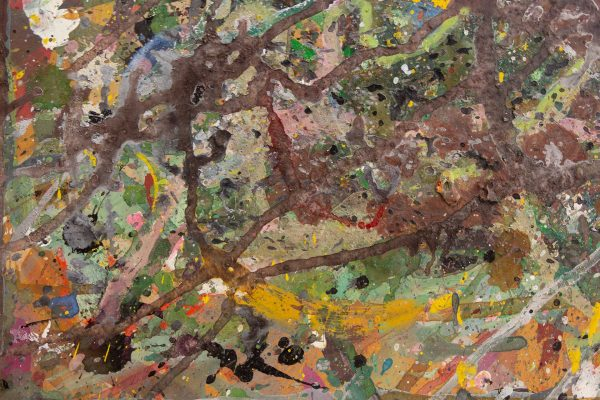 Abstract painting - Despair - Detail 4