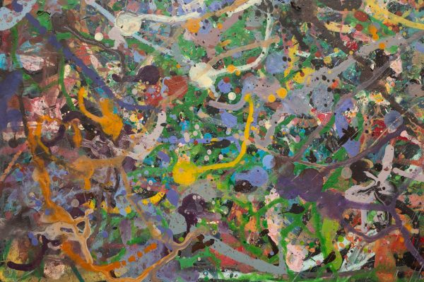 Abstract painting - Field of flowers Yarra Glen 1 - Detail 1