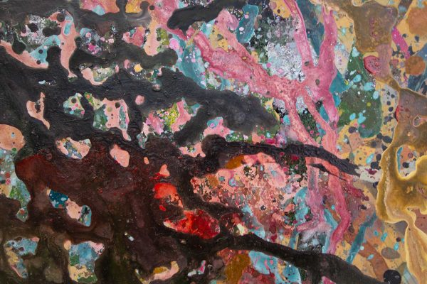 Abstract painting - Garden of Eden - Detail 4