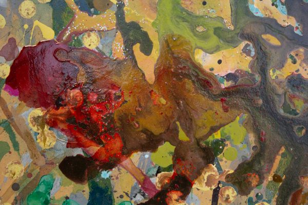 Abstract painting - Garden of Eden - Detail 3