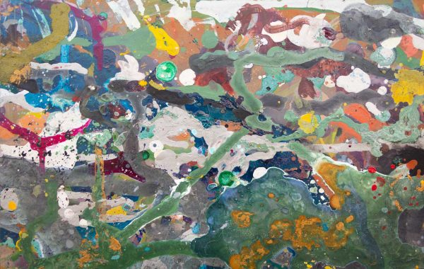 Abstract painting - Jungle #1 - Detail 1