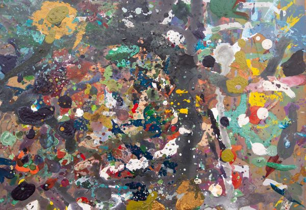 Abstract painting - Jungle #1 - Detail 3