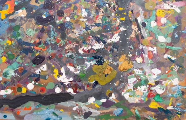 Abstract painting - Jungle #1 - Detail 4