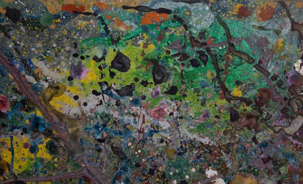Abstract painting - Jungle 2 - Detail 1