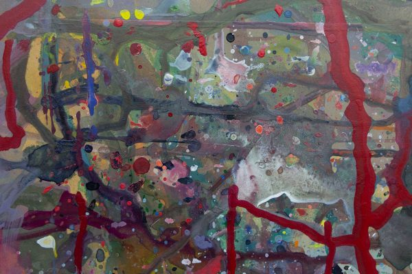 Abstract painting - September 11 - Detail 1