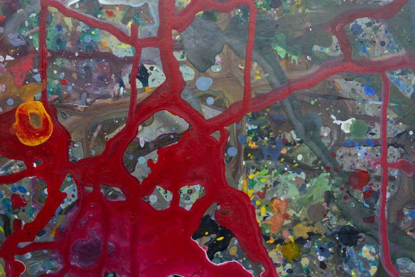 Abstract painting - September 11 - Detail 2