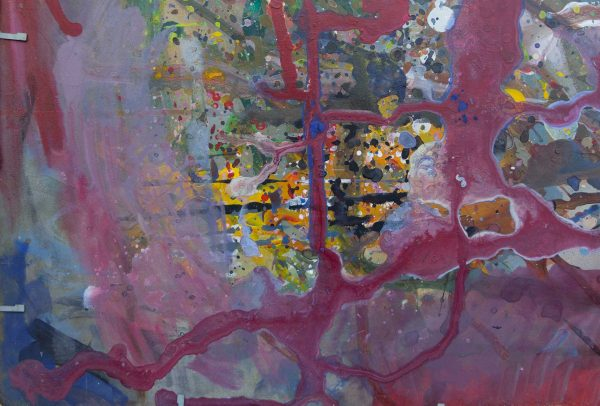 Abstract painting - September 11 - Detail 4