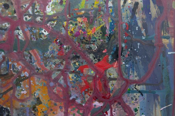 Abstract painting - September 11 - Detail 5
