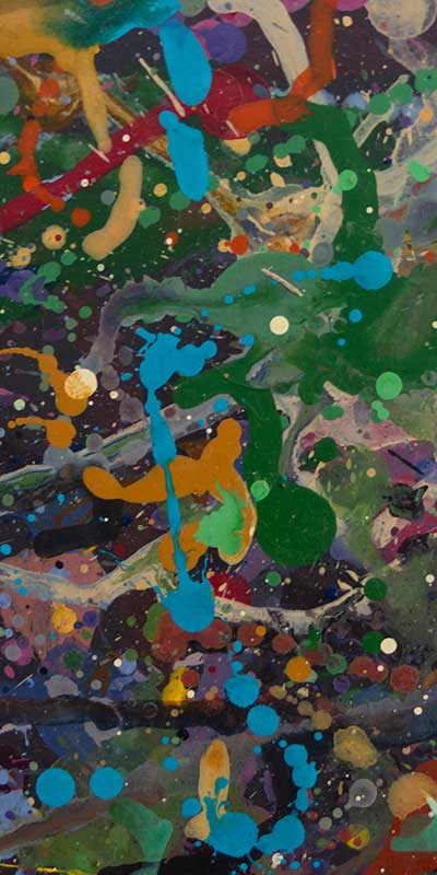 Abstract expressionism painting techniques -1