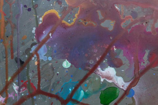 Abstract painting - The joy of listening to Miles Davis - Detail 3