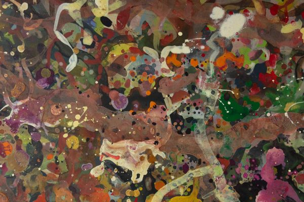 Abstract painting - Boxing Match - Detail 2