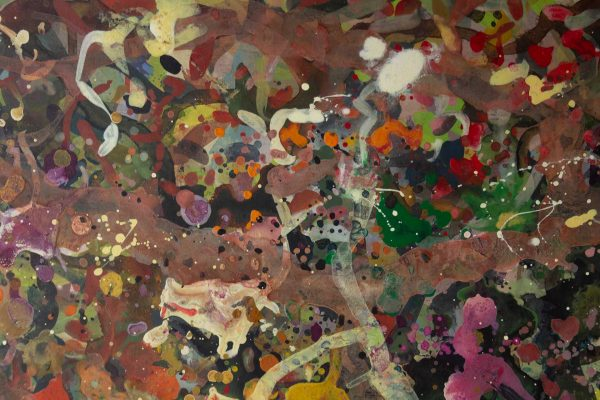 Abstract painting - Boxing Match - Detail 4