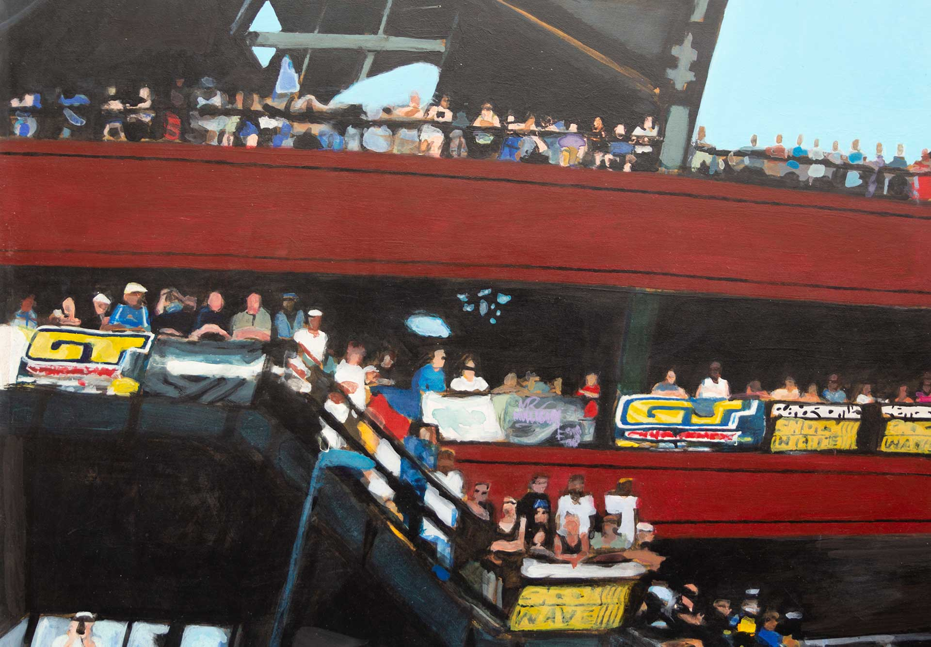 Photorealist painting - King of Dirt - Detail 2