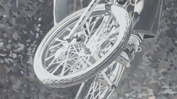 Photorealist painting - Mike King - Detail 2
