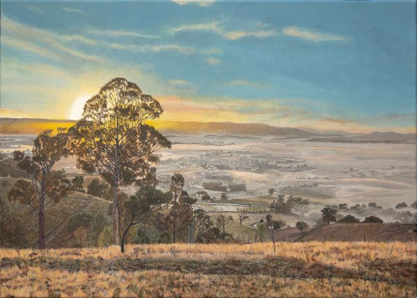 Sunrise over the Yarra Valley 1